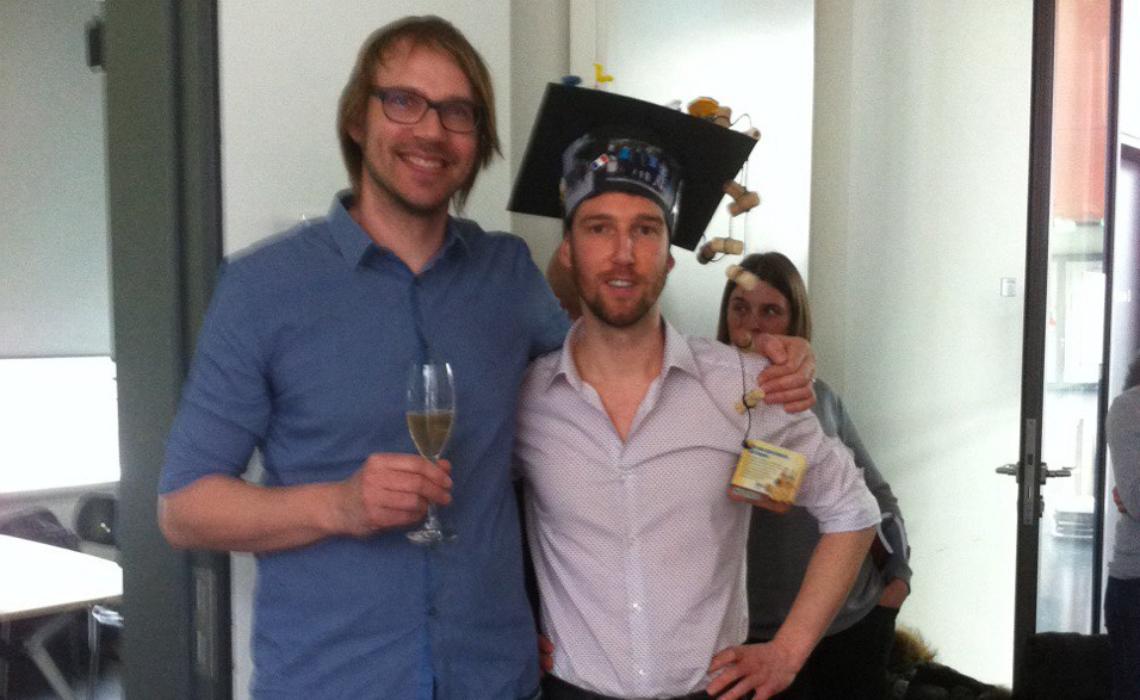 Francois' graduation